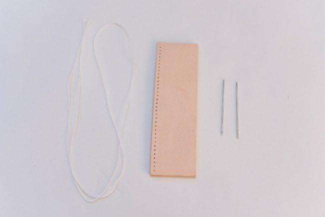 糸と針の準備