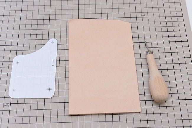型紙を写すときに使用する道具