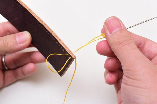 糸を綺麗に縫い合わせる方法