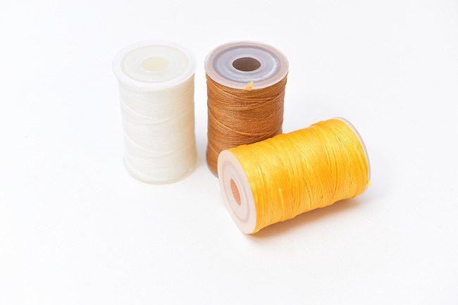 使いやすいポリエステルの糸
