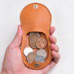 シンプルなコインケースの作り方