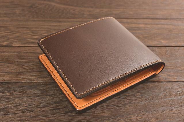 革 財布 型紙